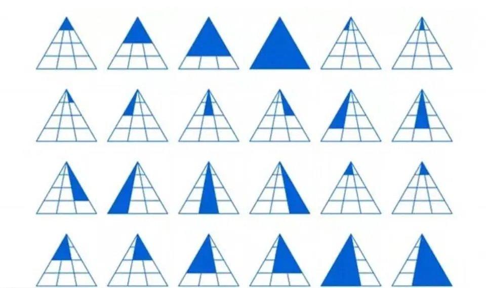 Matematikern Martin Silvertant listar de 24 trianglarna