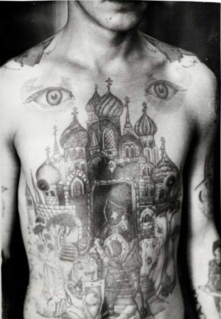 ryska fängelsetatueringar