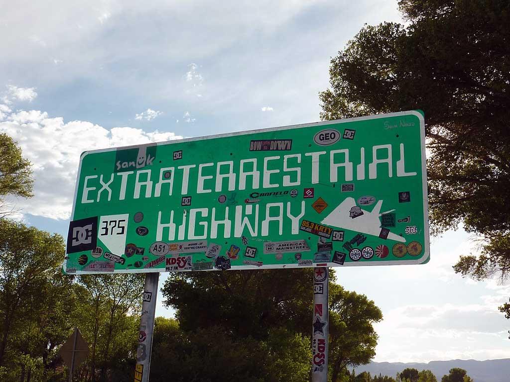 Extraterrestrial Highway - Area 51