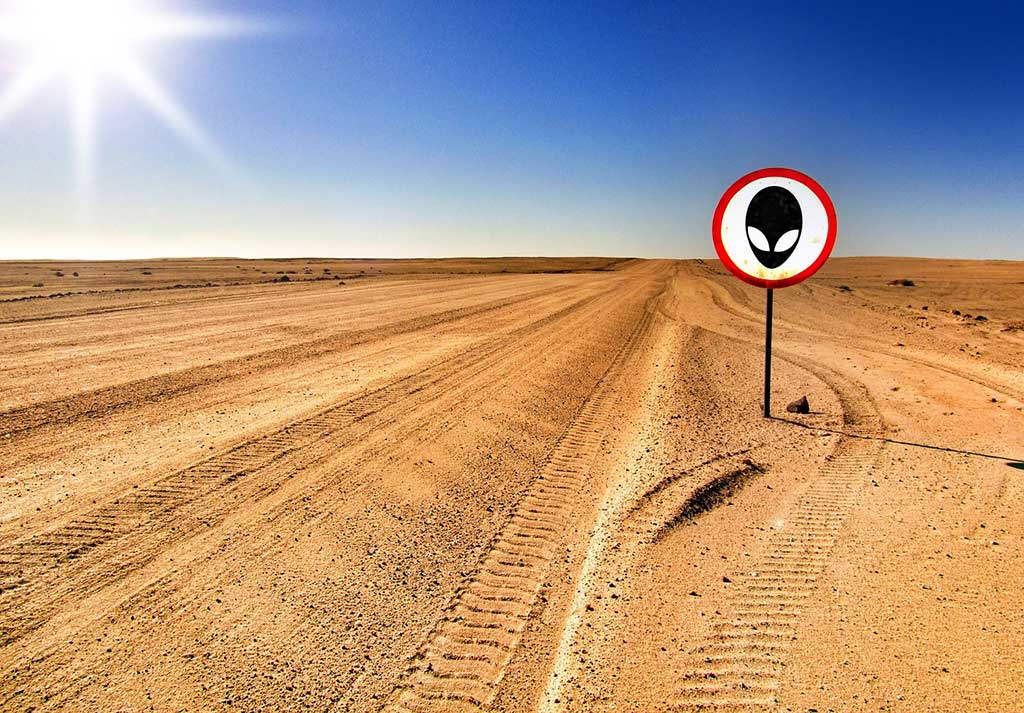 Varning för utomjordingar