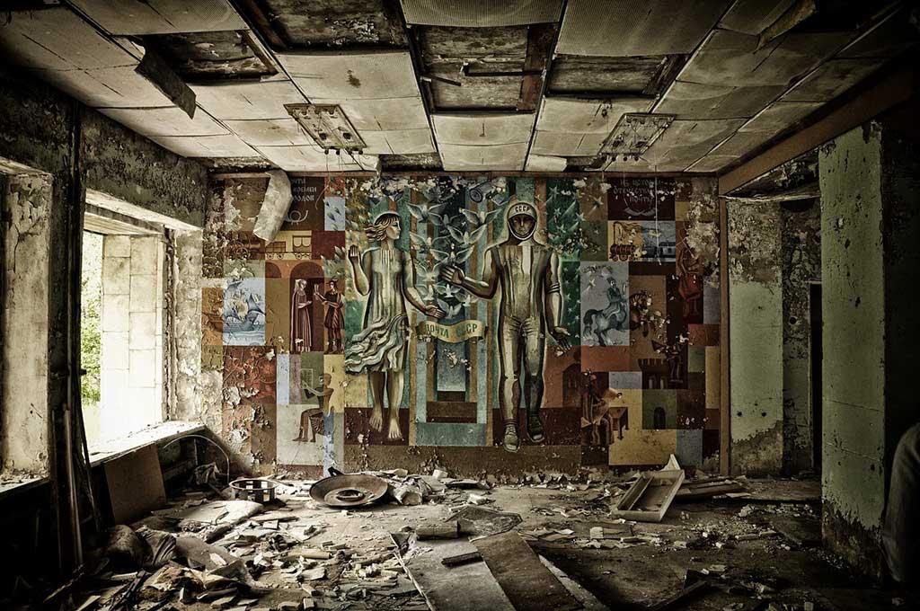 Tjernobylkatastrofen lämnade en hel stad öde