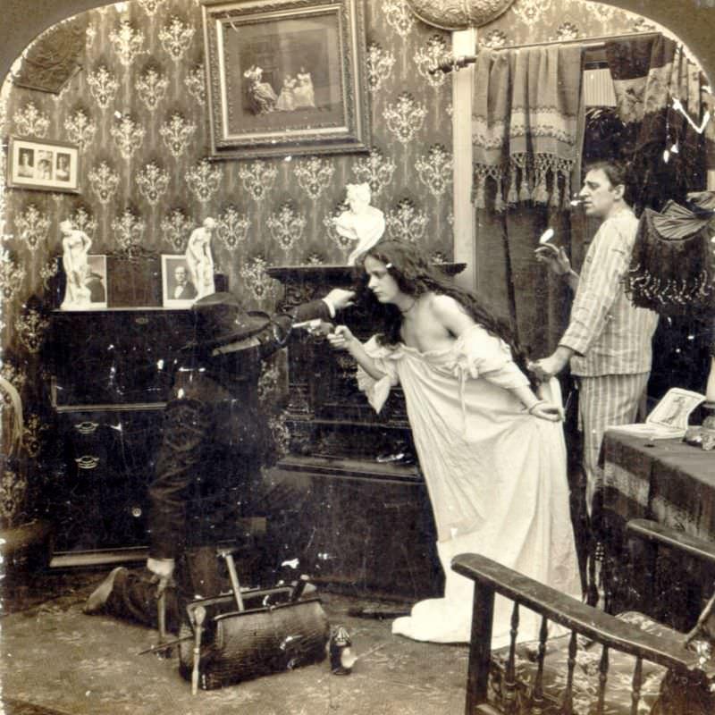 Livets galna sidor under den viktorianska eran
